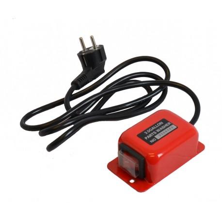 Switch - Schalter mit Kabel und Stecker für Teilewaschgerät PP-T 0001