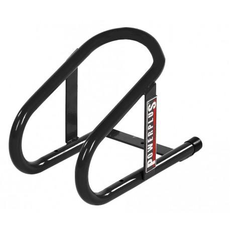 Radanschlag Anhänger Max. Reifenbreite 125 mm. - Schwarz für Motorradreifen
