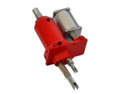 Hydraulisch/pneumatische Pumpe für Bühne 0310 ROT ab Baujahr 2012 ( geschweisste Rahmen )