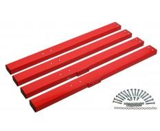 Set extra lange Beine für Werkbank PP-T 0445, 0446 und 0447.