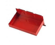 Werkzeug Ablage (Rot) mit Magnet 21 x 11,5 x 3 cm - Ablagekasten magnetisch