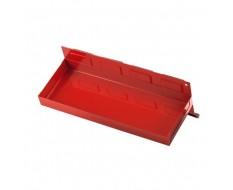 Werkzeug Ablage (Rot) mit Magnet 31 x 11,5 x 3 cm - Ablagekasten magnetisch