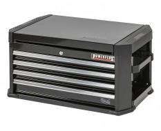 Werkzeugkiste schwarz 4 Schubladen mit Einzelaretierung