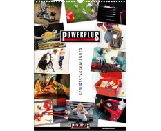 Geburtstagskalender - Wandkalender Powerplustools - Powerplustools Kalender