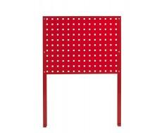 Werkzeug Lochwand 62 x 50 cm ( Rot )