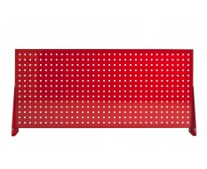 Werkzeug Lochwand 152 x 68 cm ( Rot )