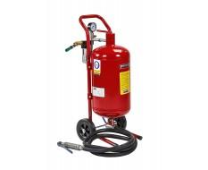 Mobiles Sandstrahlgerät - Strahlkessel 18,9 Liter - Sandstrahlgerät mobil - Sandstrahlkessel - Druckluft
