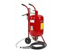 Mobiles Soda Sandstrahlgerät - Strahlkessel 37,5 Liter