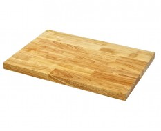 Hartholzplatte 68 x 46 x 3,8 cm - Holzplatte - Hartholz Arbeitsplatte