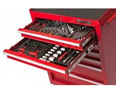 Werkstattwagen 2 Schubladen mit Werkzeug