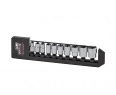 Steckschlüsselsatz metrisch 10 - teilig 3/8 zoll Antrieb - Lebenslange Garantie