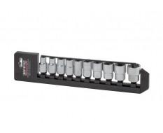 Steckschlüsselsatz metrisch 10 - teilig 1/2 zoll Antrieb - Lebenslange Garantie