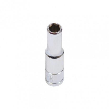 """Steckschlüsseleinsatz ¼ Zoll – 6 mm. Sechskant Nuss – 5 cm langer Sechskantschlüssel - Steckschlüssel 1/4 """""""