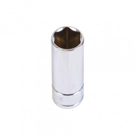 """Steckschlüsseleinsatz ¼ Zoll – 13 mm. Sechskant Nuss – 5 cm langer Sechskantschlüssel - Steckschlüssel 1/4 """""""