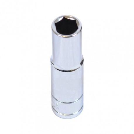 Steckschlüsseleinsatz 3/8 Zoll – 10 mm. Sechskant Nuss – 6.3 cm langer Sechskantschlüssel - Steckschlüssel 3/8''