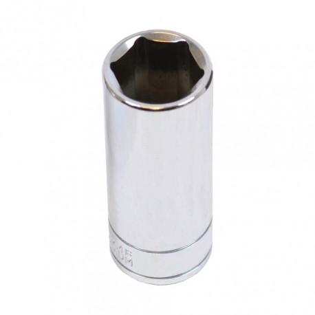 Steckschlüsseleinsatz 3/8 Zoll – 13 mm. Sechskant Nuss – 6.3 cm langer Sechskantschlüssel - Steckschlüssel 3/8''