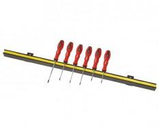 Magnetleiste inkl. Schraubendreher Set Torx - Torx Schraubendreher 6-teilig