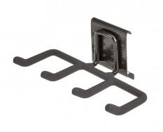 Vierer haken Gerätehalter 21 x 11 cm