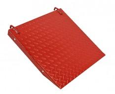 Auffahrrampe Rot für Motorradhebebühne 0331