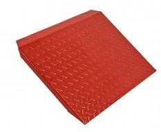 Auffahrrampe Rot für Motorradhebebühne 0332