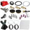 Strahlkabine selbstbau Paket type 3 für eine Sandstrahlkabine von 400 bis 1000 liter - Strahlkabine Zubehör Set