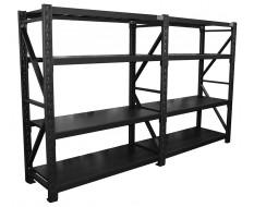 Lagerregal 302 x 60 x 180 cm - Tragkraft 1000 kg - Steckregal