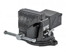 Medium duty Schraubstock 100 mm.  drehbar - Drehteller - mit Amboss
