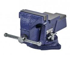 Schraubstock drehbar 100 mm. Drehteller - mit Amboss