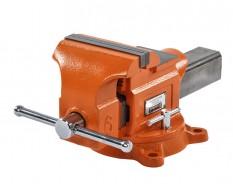 Schraubstock aus Sphäroguss 150 mm drehbar - Drehteller - mit Amboss