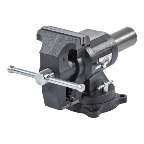Mehrzweck-Schraubstock 125 mm drehbar - Drehteller - mit Amboss