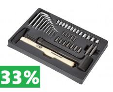 Hammer + Torx - Schlüsselsatz 38-teilig