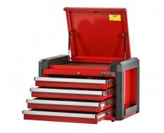 Profi Werkzeugkiste Rot mit 4 Schubladen