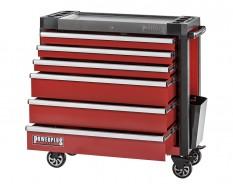 Werkstattwagen rot 6 Schubladen 97 x 48 x 101 cm