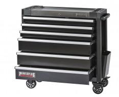 Werkstattwagen schwarz 6 Schubladen 97 x 48 x 101 cm