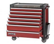Werkstattwagen rot 7 Schubladen 97 x 48 x 101 cm