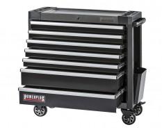 Werkstattwagen schwarz 7 Schubladen 97 x 48 x 101 cm