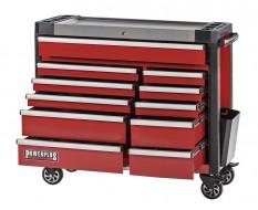 Werkstattwagen rot 11 Schubladen 110 x 48 x 101 cm