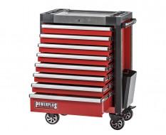 Werkstattwagen rot 8 Schubladen 72 x 48 x 101 cm