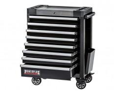 Werkstattwagen schwarz 8 Schubladen 72 x 48 x 101 cm