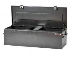 Werkzeugkiste aus Metall mit 2 Gasdruckfedern / XL Deichselbox für Anhänger - Typ Truck box
