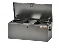 Werkzeugkiste aus Metall mit 2 Gasdruckfedern / Deichselbox für Anhänger - Typ Truck box