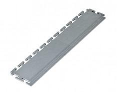 PVC Kantenleiste grau - Abschlussleiste 500 x 100 mm für industrielle PVC Klickfliesen