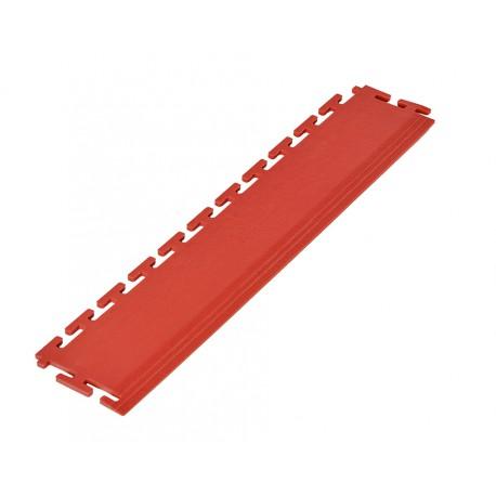 PVC Kantenleiste rot - Abschlussleiste 500 x 100 mm für industrielle PVC Klickfliesen