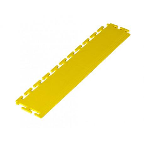PVC Kantenleiste gelb - Abschlussleiste 500 x 100 mm für industrielle PVC Klickfliesen