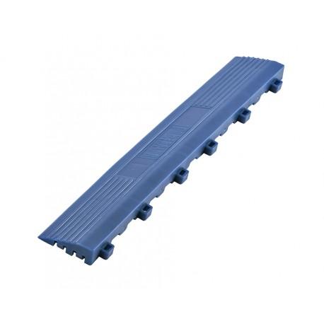 Kunststoff Kantenleiste blau - Abschlussleiste 400 x 60 mm für 1810 + 1813 Klickfliese type 1
