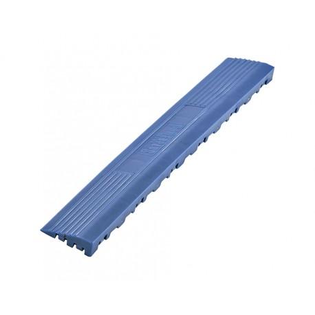 Kunststoff Kantenleiste blau - Abschlussleiste 400 x 60 mm für 1810 + 1813 Klickfliese type 2