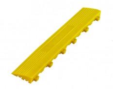 Kunststoff Kantenleiste gelb - Abschlussleiste 400 x 60 mm für 1810 + 1813 Klickfliese type 1