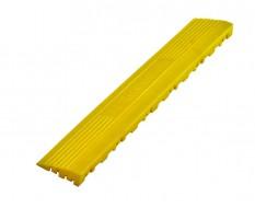 Kunststoff Kantenleiste gelb - Abschlussleiste 400 x 60 mm für 1810 + 1813 Klickfliese type 2