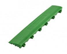 Kunststoff Kantenleiste grün - Abschlussleiste 400 x 60 mm für 1810 + 1813 Klickfliese type 1