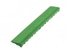 Kunststoff Kantenleiste grün - Abschlussleiste 400 x 60 mm für 1810 + 1813 Klickfliese type 2